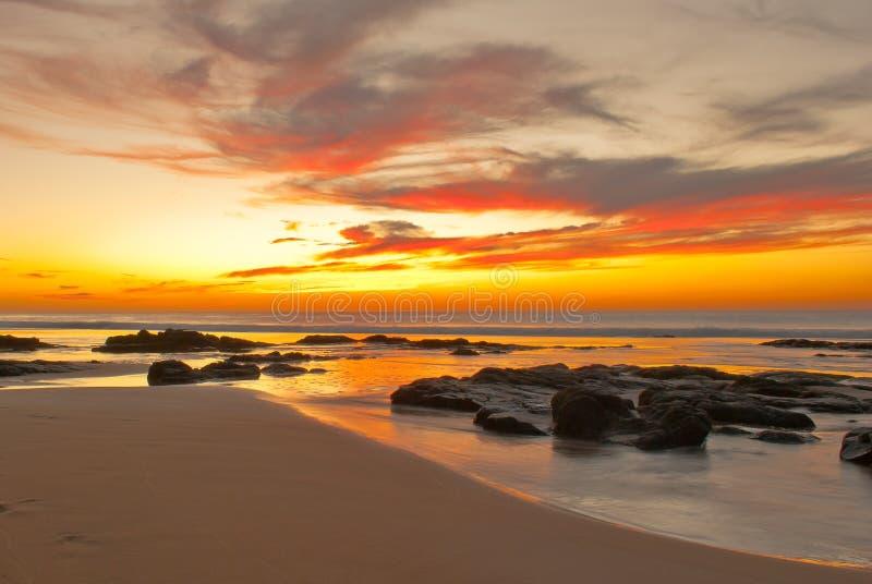 El Cotillo Seascape fotografia stock