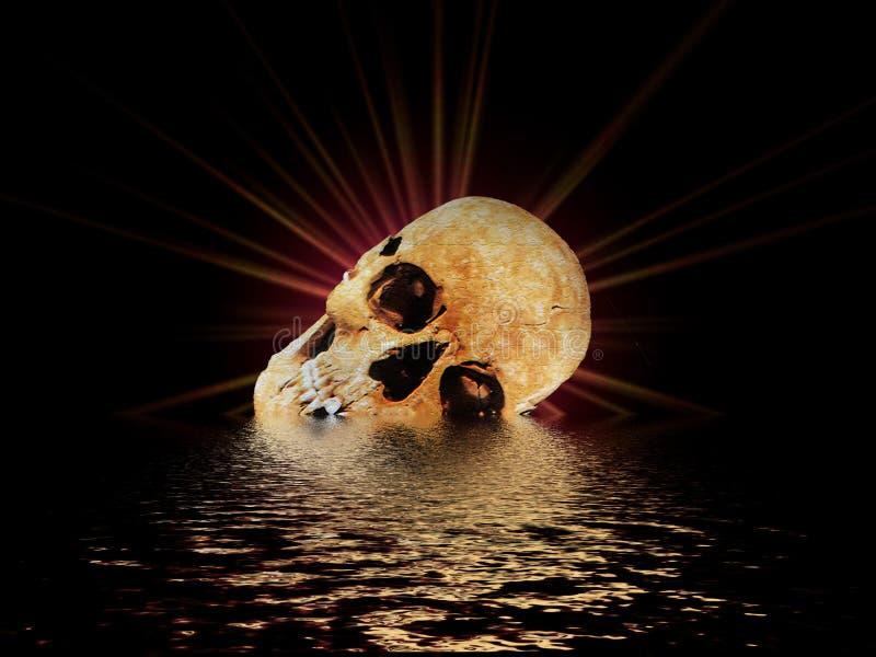Download El cráneo II stock de ilustración. Ilustración de oscuro - 192884