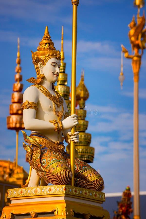 El crematorio real de su rey Bhumibol Adulyadej de la majestad foto de archivo