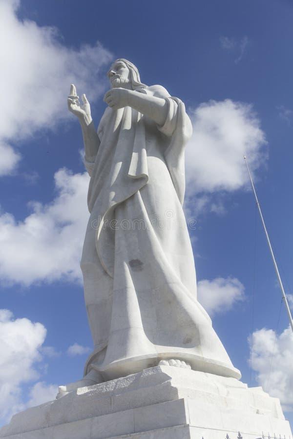 El Cristo de La Habana royaltyfri bild