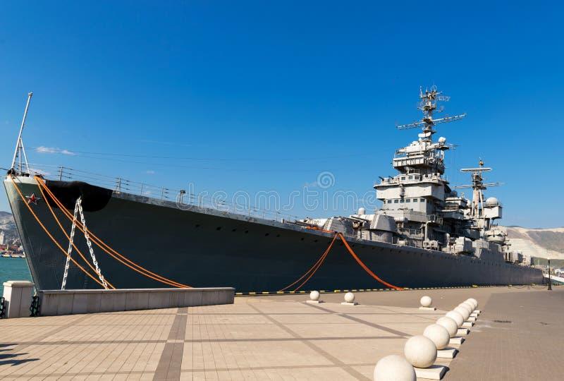 El crucero del nave-museo fotos de archivo libres de regalías