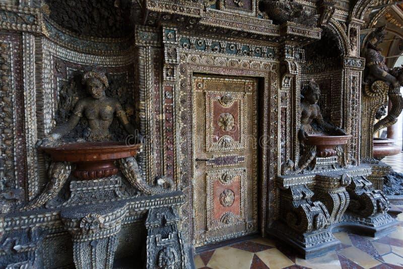 El cuarto del mosaico fotografía de archivo libre de regalías