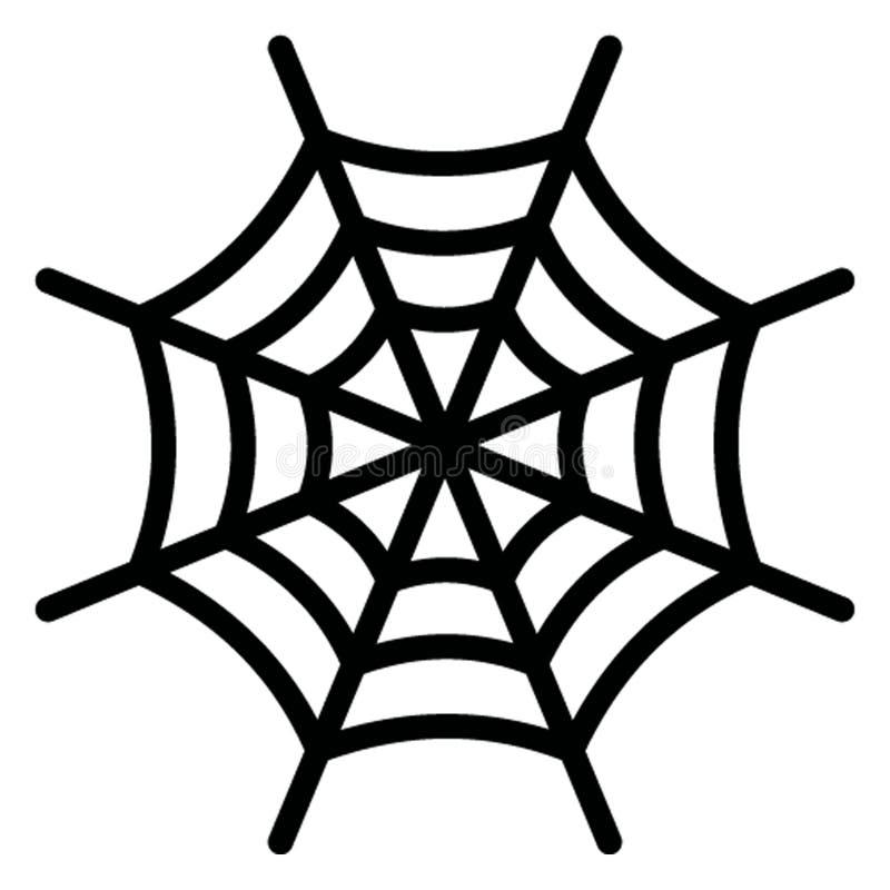 el cubo 3d aisló el icono del vector que puede modificarse fácilmente stock de ilustración