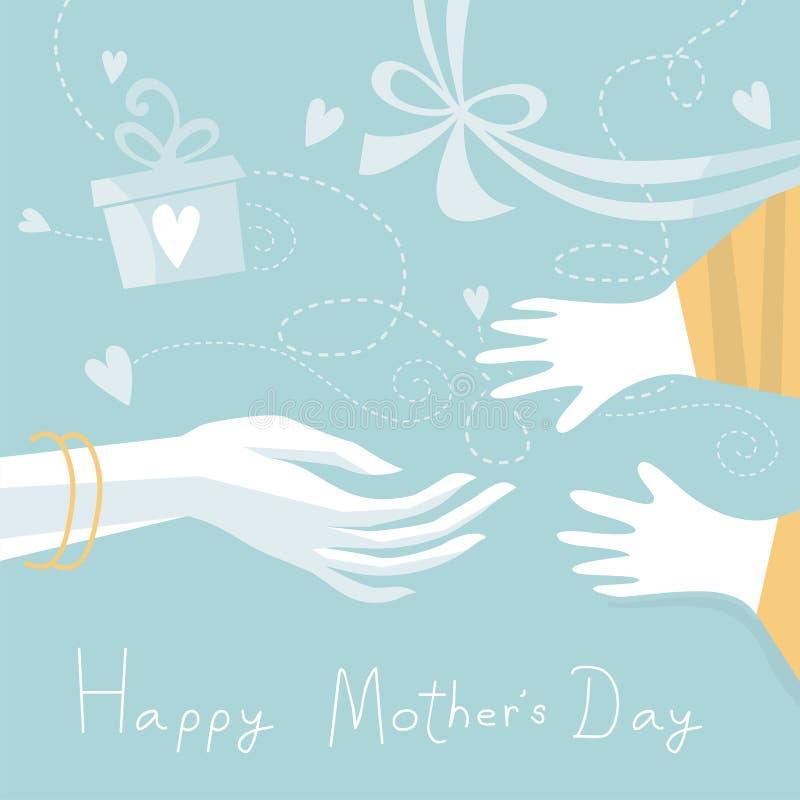 El día de madre feliz libre illustration