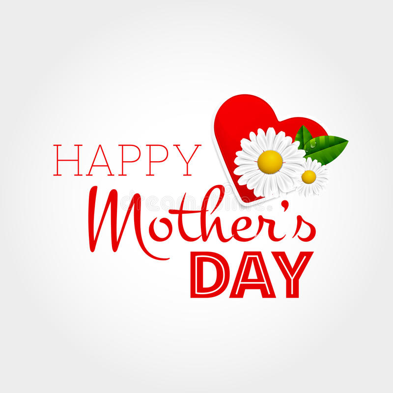 El día de madre feliz stock de ilustración