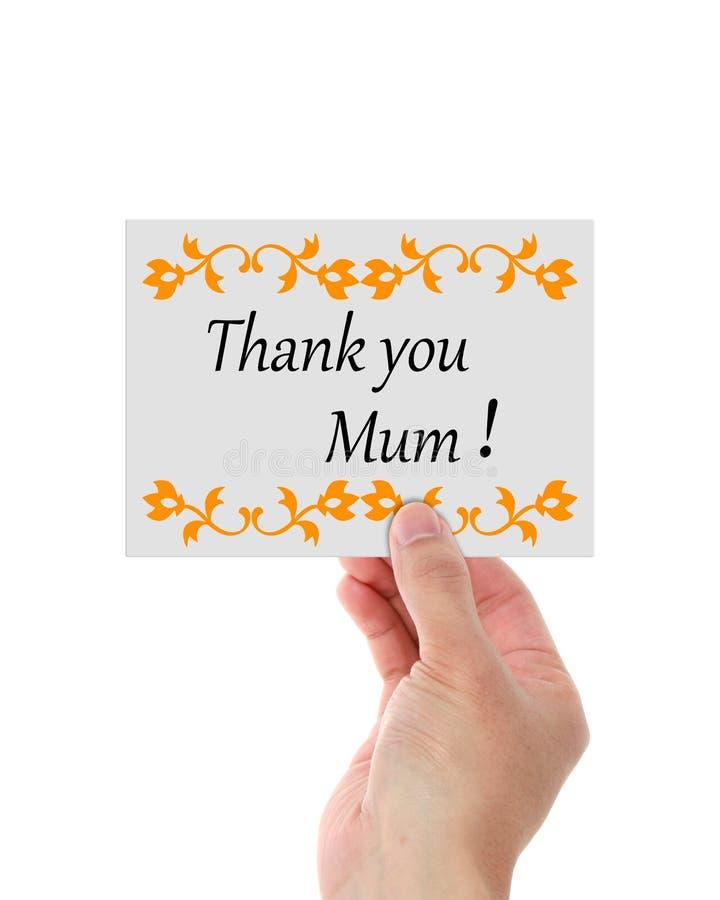El día de madres le agradece fotos de archivo libres de regalías