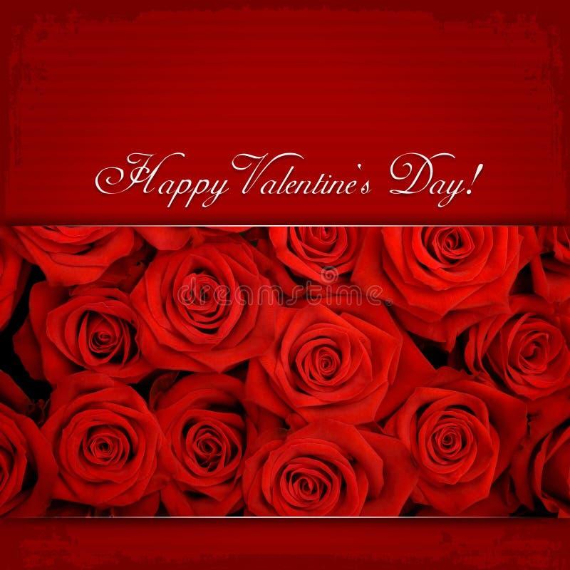 El día de tarjeta del día de San Valentín feliz foto de archivo