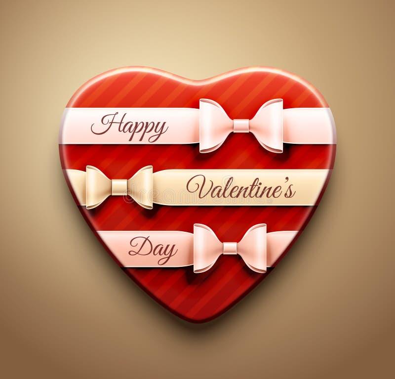 ¡El día de tarjeta del día de San Valentín feliz! libre illustration