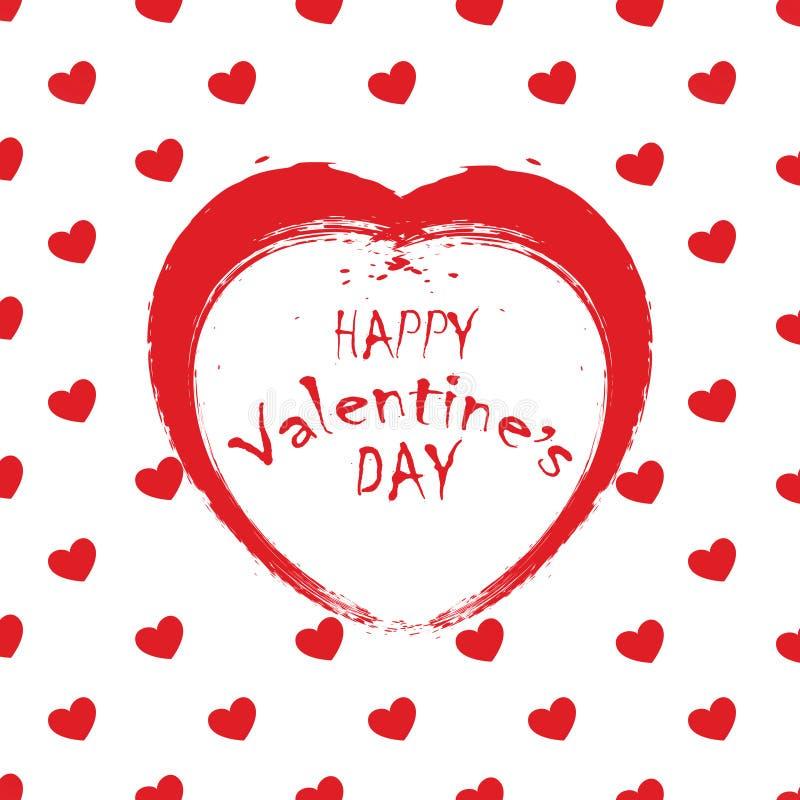 El día de tarjeta del día de San Valentín 01 libre illustration