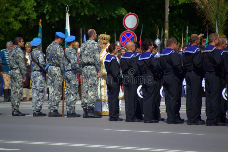 El día de valor y de ejército búlgaro fotos de archivo libres de regalías