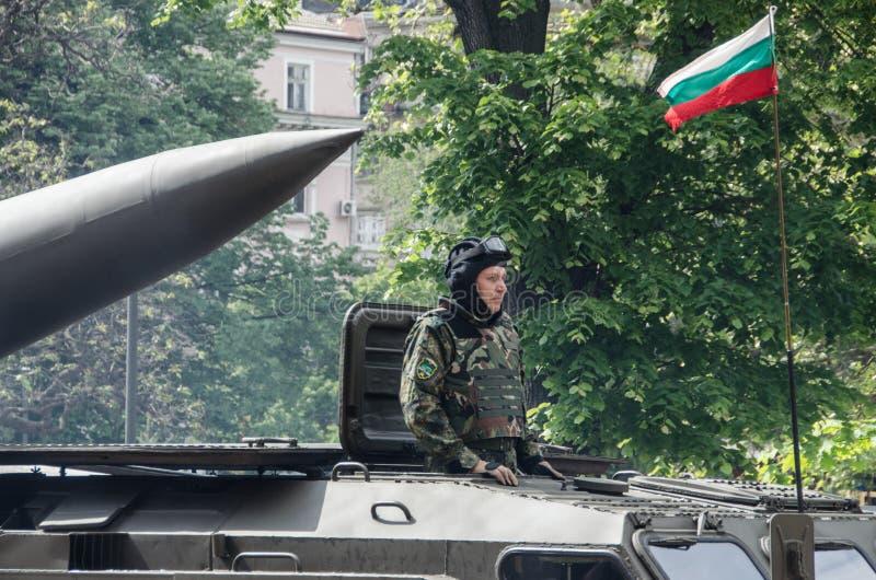 El d?a del valor en Bulgaria - 6ta de mayo imágenes de archivo libres de regalías