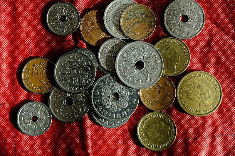 El danés acuña moneda fotos de archivo