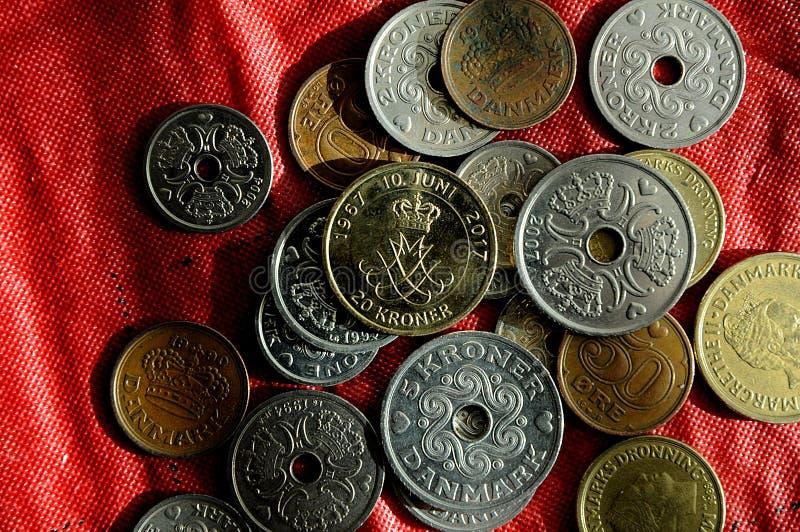 El danés acuña moneda fotografía de archivo