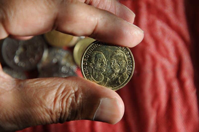 El danés acuña moneda imágenes de archivo libres de regalías