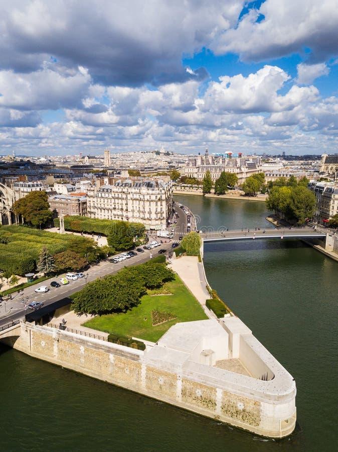 El de cuadrado l Ile de France del ` en París fotografía de archivo libre de regalías
