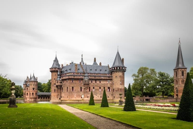 El De Haar Castle es el castillo más grande de los Países Bajos fotografía de archivo libre de regalías