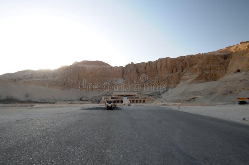 EL de l'Egypte de deir de bahri photographie stock