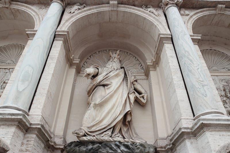 El dell'Acqua Felice de Fontana en Roma fotos de archivo libres de regalías