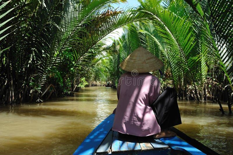 El delta de Mekong imágenes de archivo libres de regalías