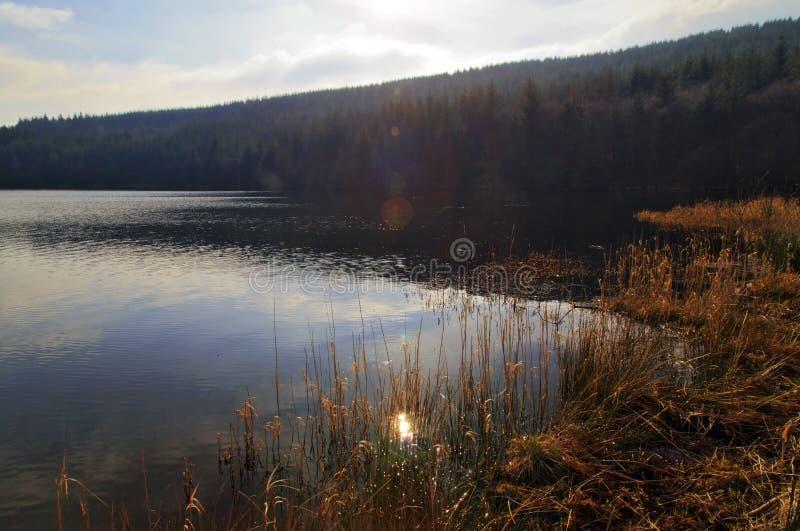 El depósito de Cantref, Nant-ddu, Brecon baliza el parque nacional foto de archivo libre de regalías