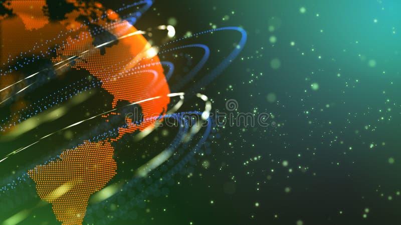 El descubrimiento de nuevos planetas libre illustration
