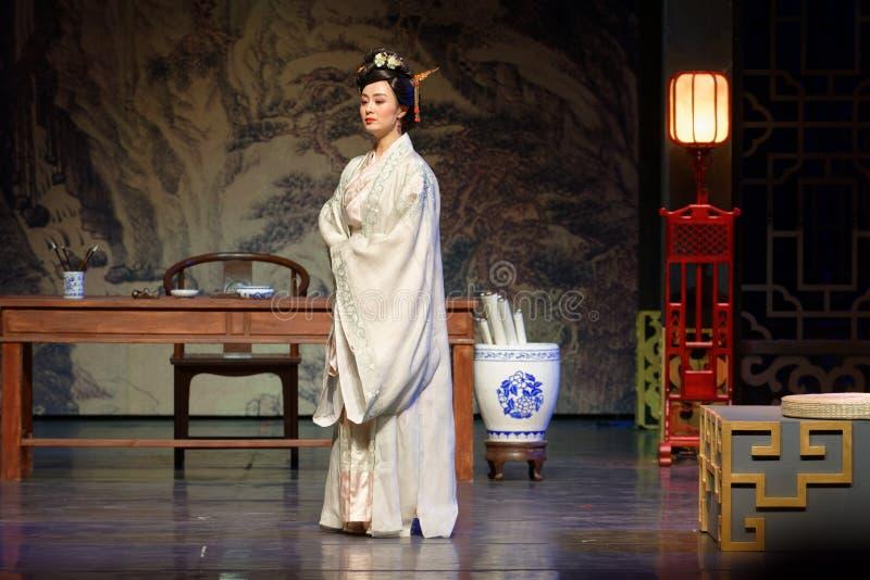El deseo que se aflige de la princesa del acto de Lou- en segundo lugar: la noche del drama histórico ejército-grande, ` Yangming fotografía de archivo libre de regalías