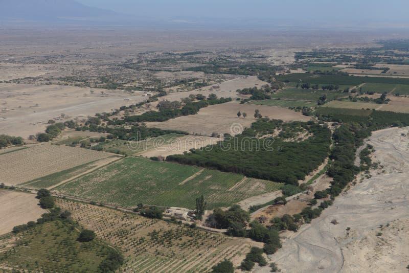 El desierto de Nazca imágenes de archivo libres de regalías