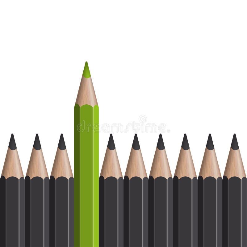 ¡El destacarse! ilustración del vector