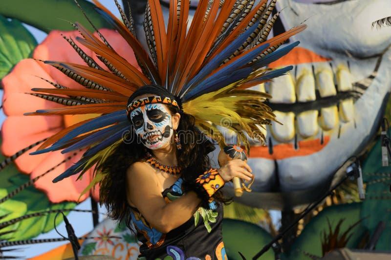 EL Diâmetro de Los Muertos imagens de stock royalty free