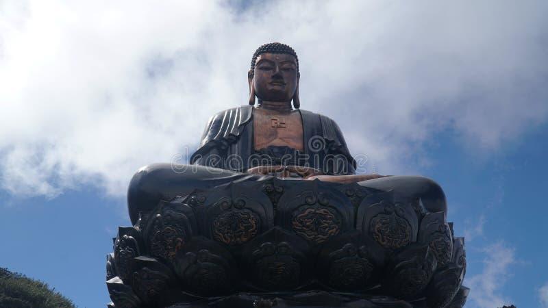El Di más alto DA 02 de Buda A en Vietnam está situado en el top de Fansipan Sapa fotografía de archivo
