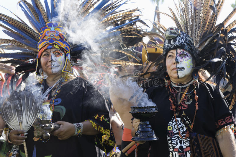 El Dia de Los Muertos lizenzfreie stockfotos