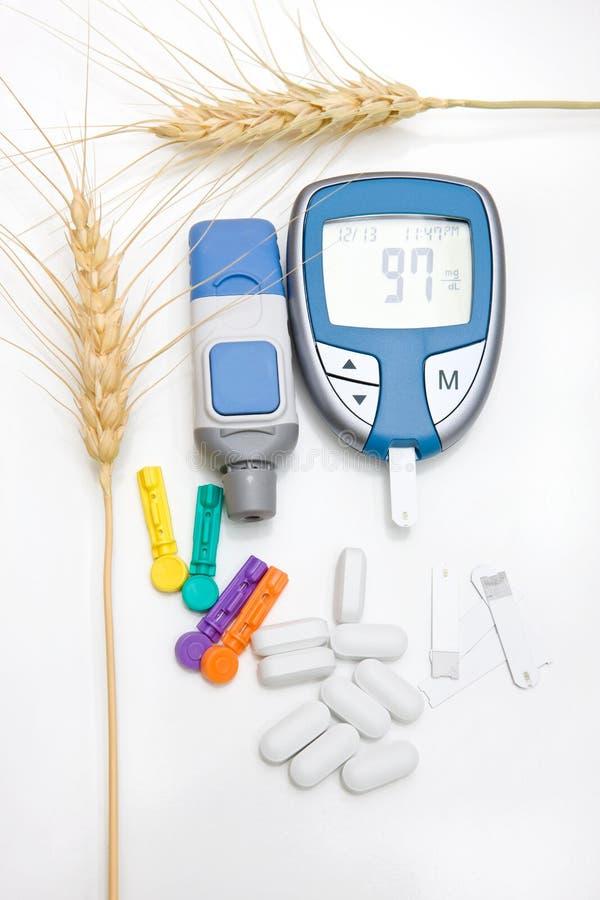 El diabético suministra concepto imágenes de archivo libres de regalías