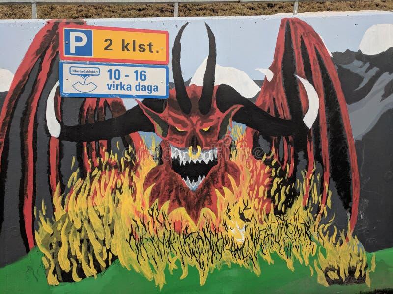EL Diablo στοκ εικόνα με δικαίωμα ελεύθερης χρήσης