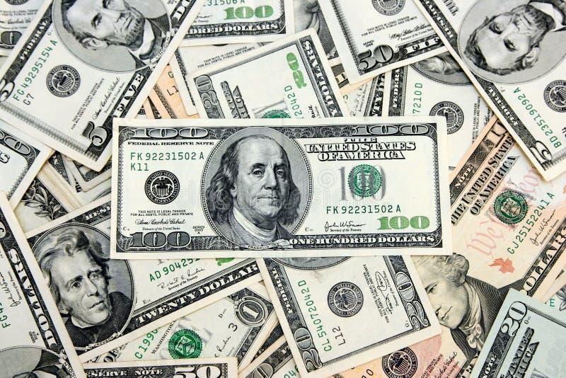 El dinero americano imagen de archivo libre de regalías