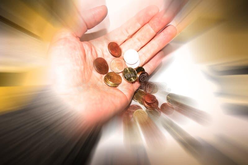 El dinero va fotografía de archivo libre de regalías