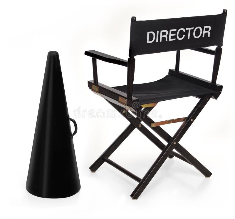El director imagen de archivo libre de regalías
