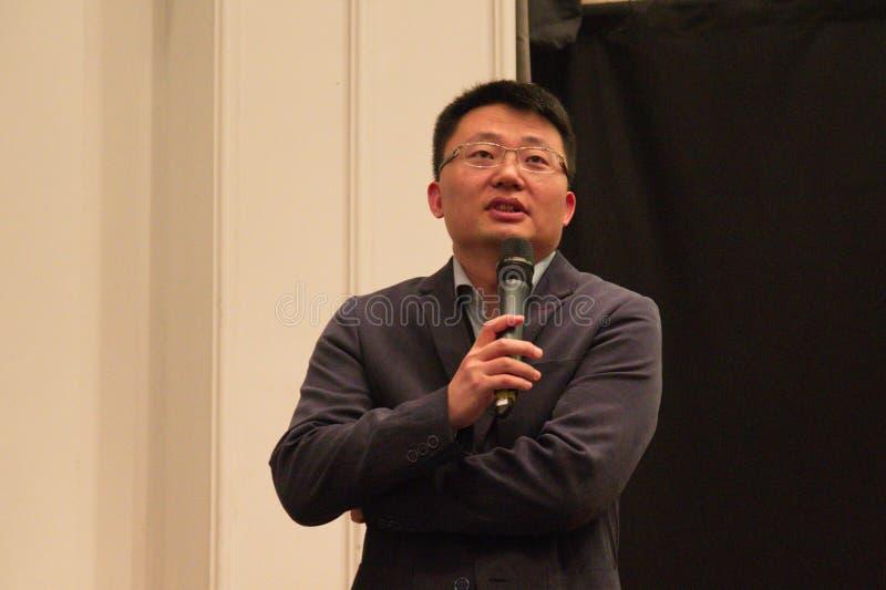 El director de letras de Massanja Leon Lee foto de archivo libre de regalías
