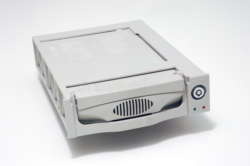 El disco duro lleva imágenes de archivo libres de regalías