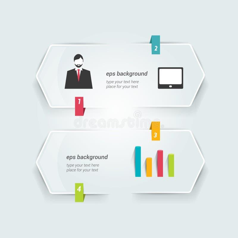 El discurso burbujea infographic libre illustration