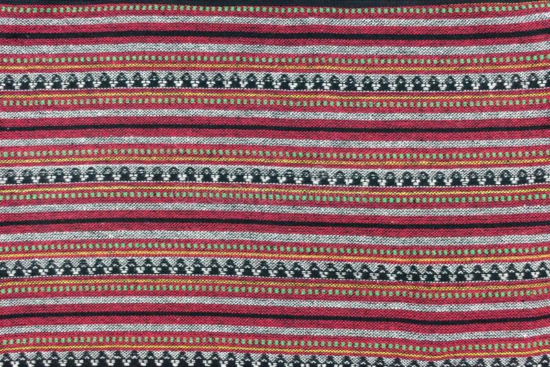 El diseño del norte local del modelo de Tailandia hizo la tela y la seda imagen de archivo libre de regalías