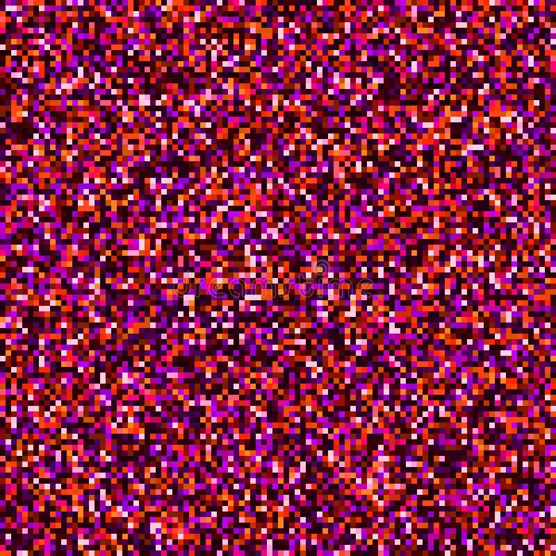 El diseño gráfico de la interferencia digital abstracta de los cuadrados dañó el fondo del archivo de datos EPS 10 ilustración del vector