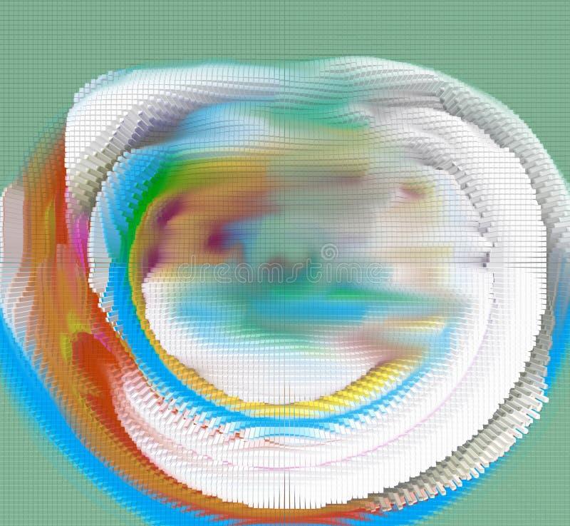 El diseño gráfico es abstracto Artes gráficos Abstracción Textura ilustración del vector