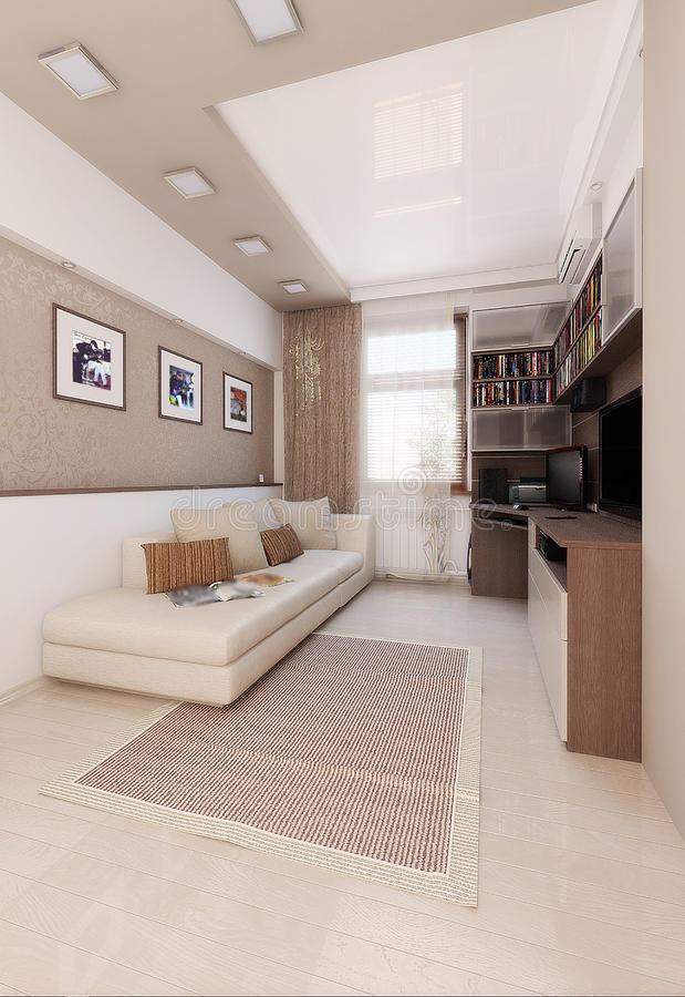 El dise o interior del dormitorio de los colores claros - Dormitorios colores claros ...