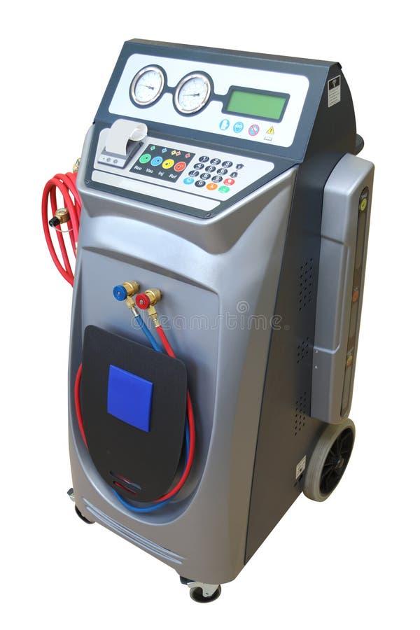 El dispositivo para la verificación del acondicionador de aire fotos de archivo libres de regalías