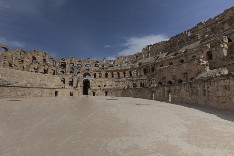 Download El Djem, Tunisia stock photo. Image of tunisisa, ruins - 30375984