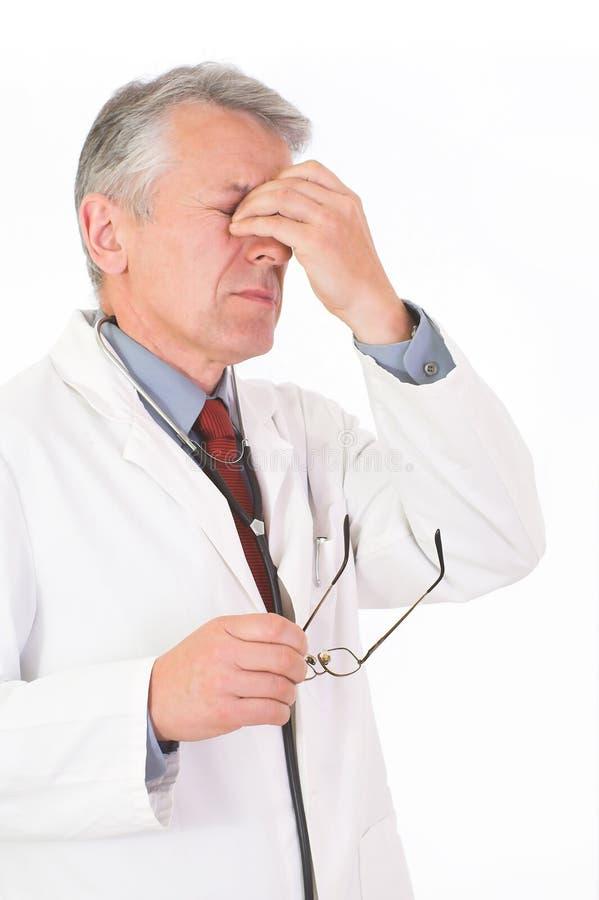El doc. es cansado fotografía de archivo