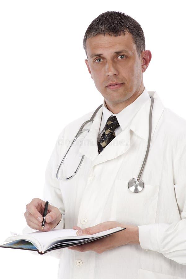 El doctor practicante fotografía de archivo
