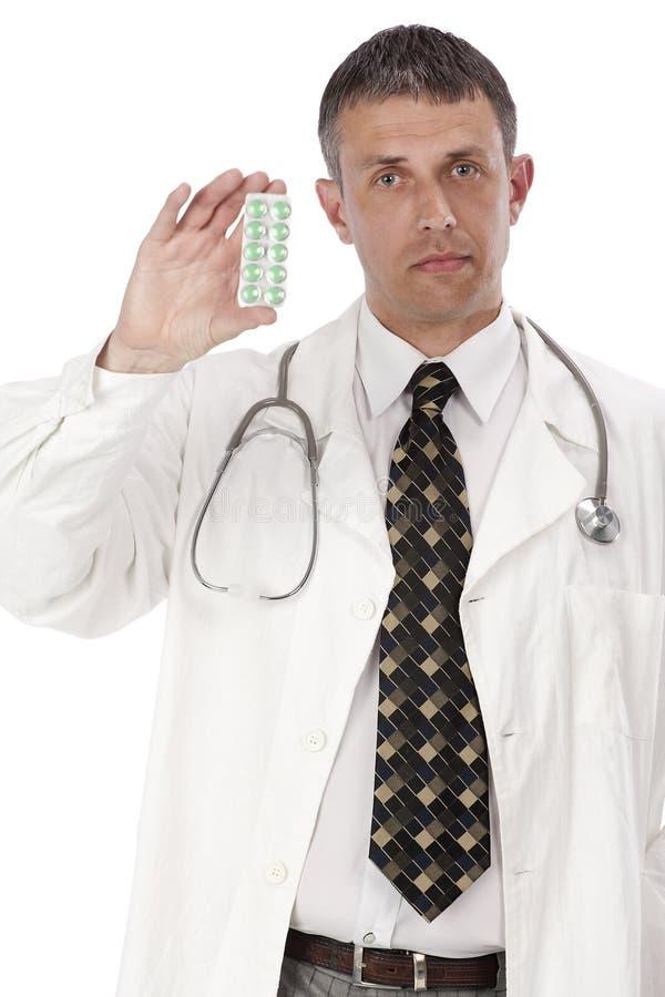 El doctor practicante foto de archivo