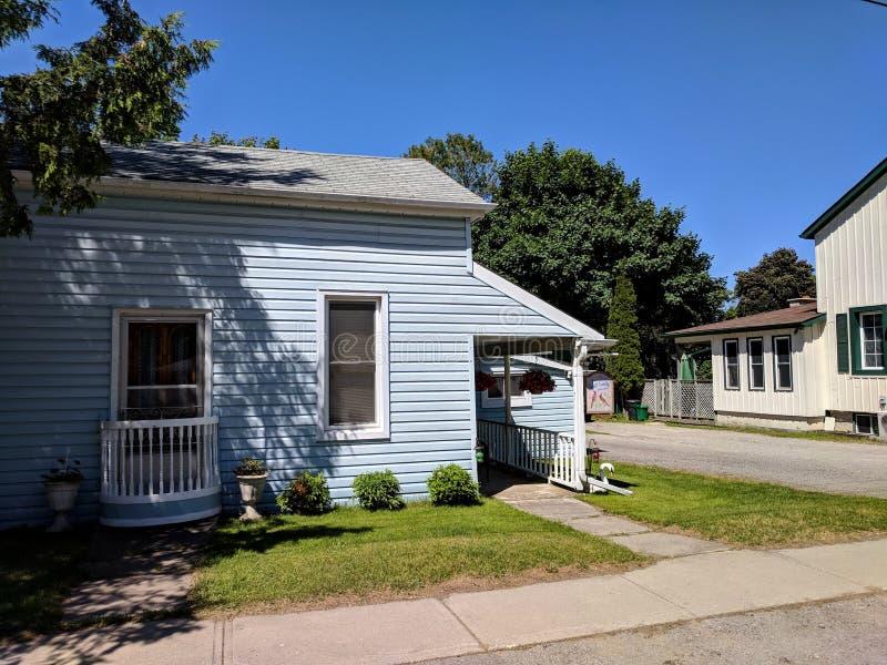 El domicilio familiar de Schitt según lo ofrecido en cala del ` s de Schitt fotos de archivo