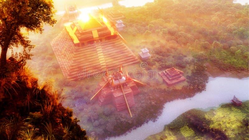 El Dorado royalty free illustration